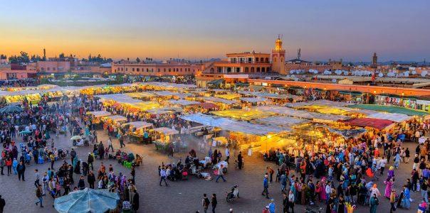 Morocco city Marrakech