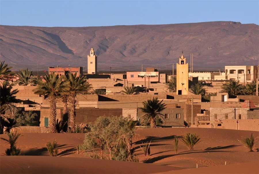 Morocco village Merzouga
