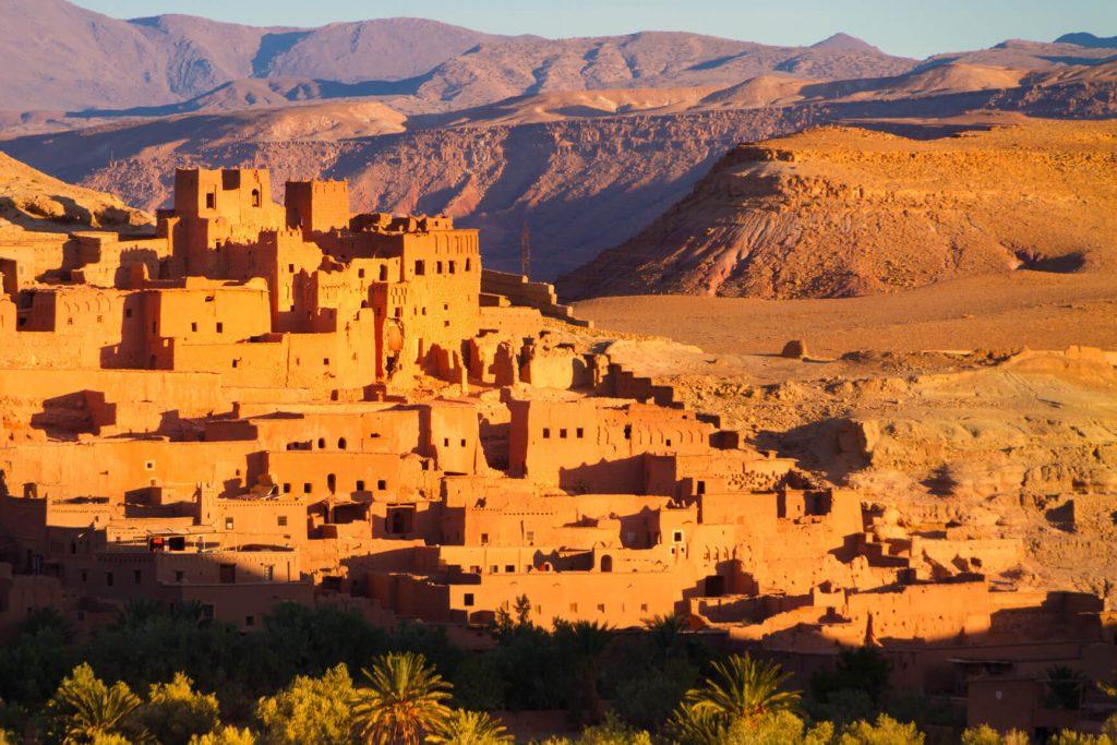 Morocco city Ouarzazate
