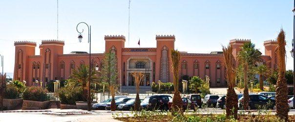 Morocco city Zagora