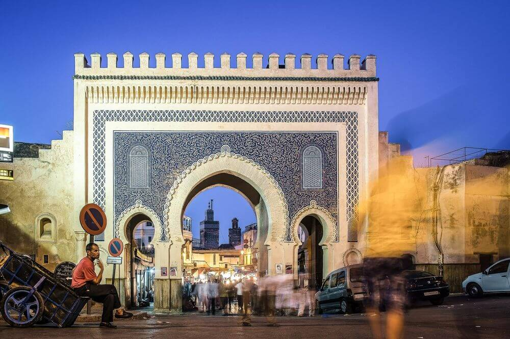 Morocco city Fes