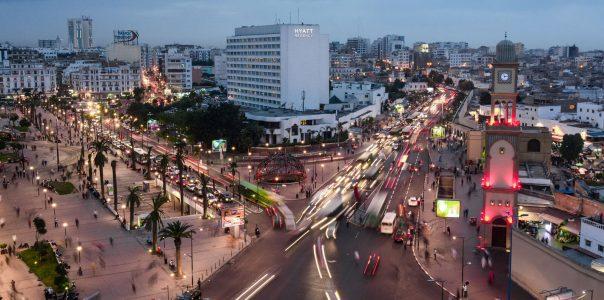 Morocco city Casablanca